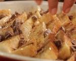 Хлебен пудинг с шоколад 2