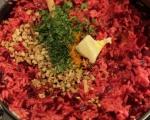 Ризото с червено цвекло  5