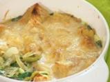 Лучена супа с пармезан