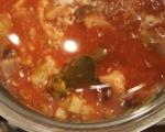 Рибена супа с домати и маслини 5