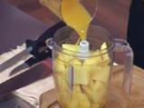 Свински котлет в сос от манго и ананас