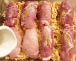 Сарми от месо върху кисело зеле 6