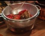 Пълнени сушени чушки с булгур и маслини