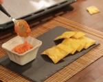 Тиквени крекери с дип от чушки  7