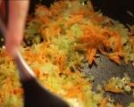 Оризова мусака с кисело зеле