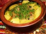 Агнешко с картофи в гърне