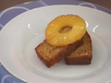 Бадемов кекс с карамелизиран ананас 4