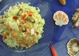 Андалуска оризова салата