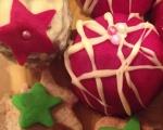 Бисквитени къпкейкове със захарен фондан 3