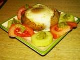 Печени яйца в картофи