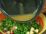 Спаначена салата с беконова заливка 4