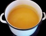 Крем супа от лук и тиква 3