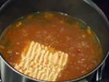 Царевична супа с боб и фиде 2