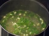 Крем супа от пресен лук 2