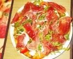 Пица с прошуто и рукола 5