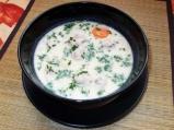 Бяла супа топчета