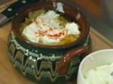 Гювечета с картофи и кисело зеле 3