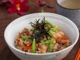 Пиле и пресни зеленчуци с ориз