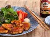 Пикантно пиле с японски соев сос