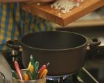 Доматена супа с печени чушки