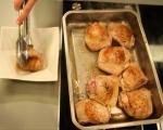 Печени пилешки бутчета с целина 2