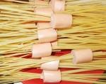 Спагети с кренвирши и сметана  2