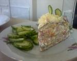 Солена палачинкова торта 5
