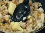 Пилешки сеизмичен кебап