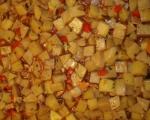 Вегетарианска мусака с орехи  6