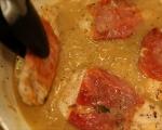 Салтимбока с пилешко и вино 8