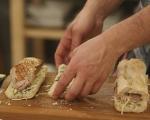 Свинско в хляб по тоскански 5