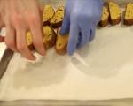 Тиквени кантучини с горещ бял шоколад 8