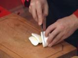 Билкова багета с маринована моцарела и сирене 3