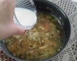 Зеленчукова супа със сирене 3