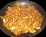 Корейски ориз в уок 4