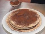 Торта с шоколадов мус и лешникова коричка 7