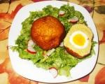 Яйца, облечени в картофи 2