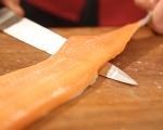 Рулца от сьомгова пъстърва с тапенада 3