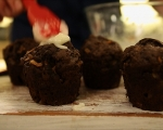 Постни шоколадови кексчета 9
